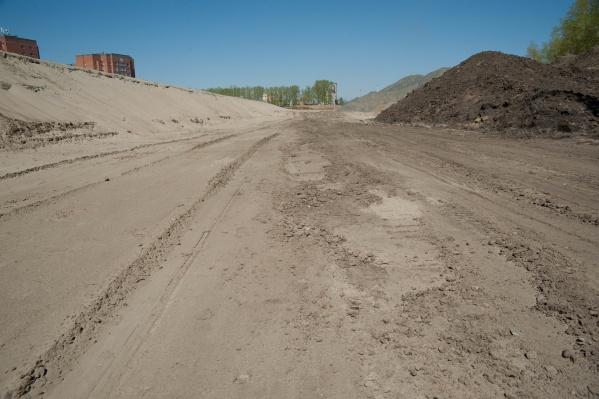 Обновлённое Краснояровское шоссе обещают открыть в течение месяца