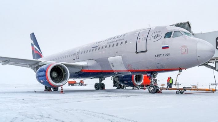 В пермском аэропорту проверили самолёт из Москвы после сообщения о бомбе