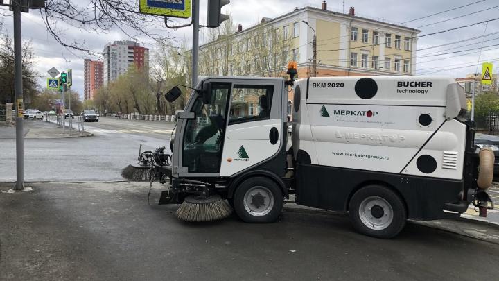 Почти не шумят и хорошо убирают: на челябинские тротуары выйдут немецкие мини-пылесосы
