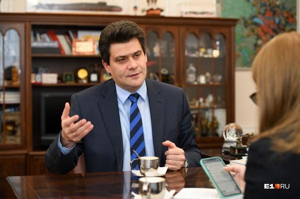 Мэр в прямом эфире дал большое интервью