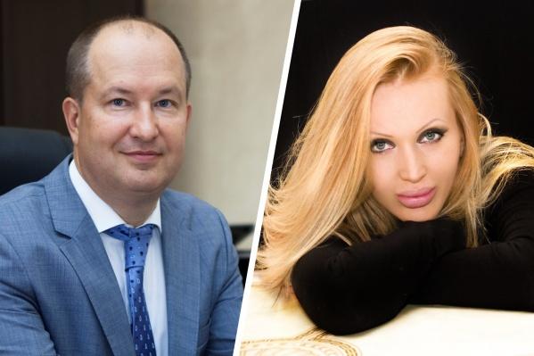 На лектории выступалиректор БГМУ Валентин Павлов и светская львица Евгения Машко