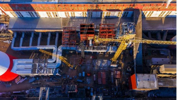 На Красноярской ТЭЦ-1 приступили к сборке двух новых электрофильтров
