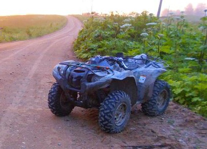 Ночью в Ярославской области разбился мужчина на квадроцикле