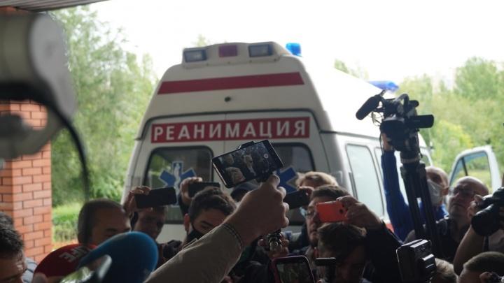 Навальный в омской больнице. День второй. Как это было