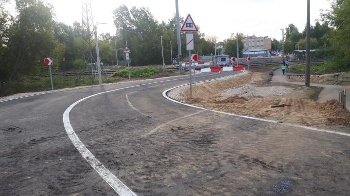 Улицу Циолковского перекроют 14 сентября. Смотрим, как выглядит дорога-дублер