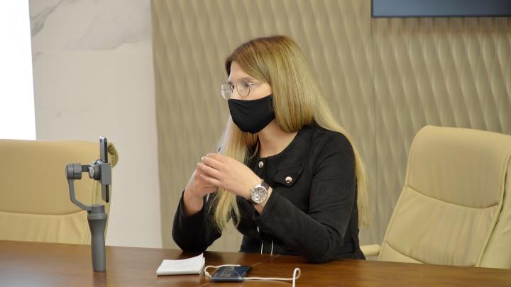 В правительстве 29.RU запретили снимать ответы Цыбульского на брифинге в прямом эфире