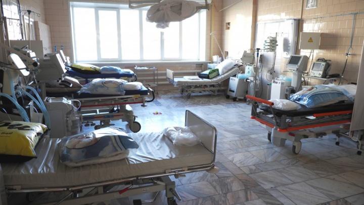 В реанимации краевой больницы увеличили количество коек: после майских праздников много зараженных