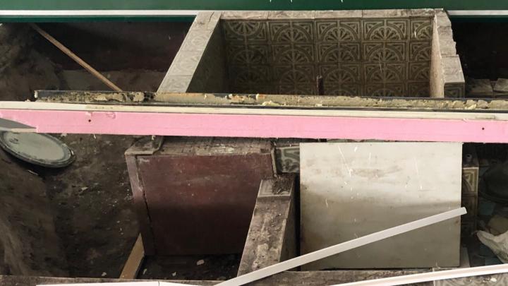 Интересную находку обнаружили во время ремонта северодвинской больницы № 2