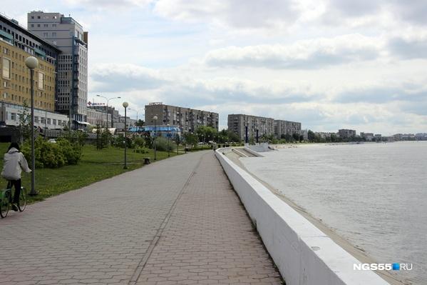 Набережная Иртыша может кардинально преобразиться, если в омском бюджете появятся 7 миллиардов рублей