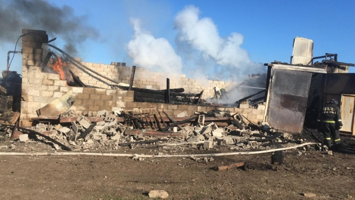 Следователи нашли виновного в пожаре, где погибли шестеро рабочих
