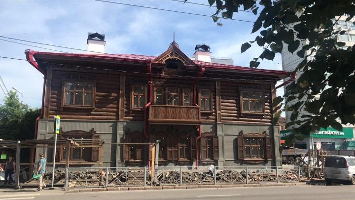 Доходный дом Юдина в центре города превратят в офис