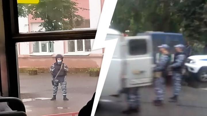 В Ярославле заминировали здание судебных приставов. Бойцы ОМОН перекрыли целый квартал