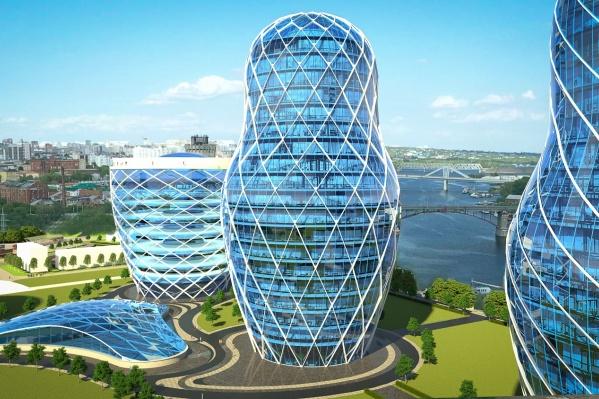 Самое высокое здание будет 30-этажным