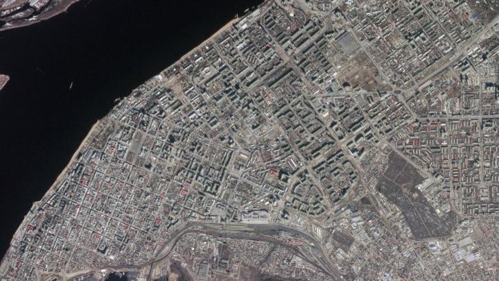 «Роскосмос» опубликовал фото Самары из космоса