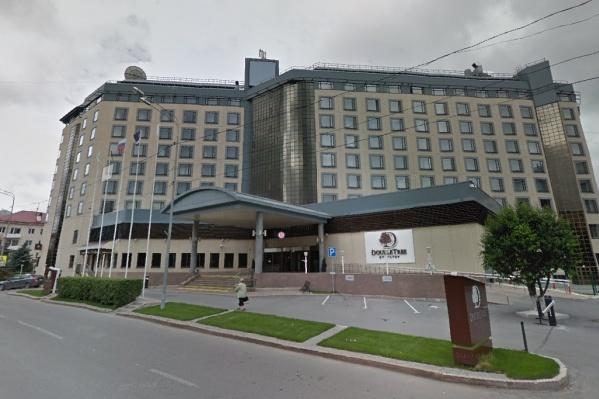 Четырехзвездочная гостиницаDoubleTree by Hilton Tyumen