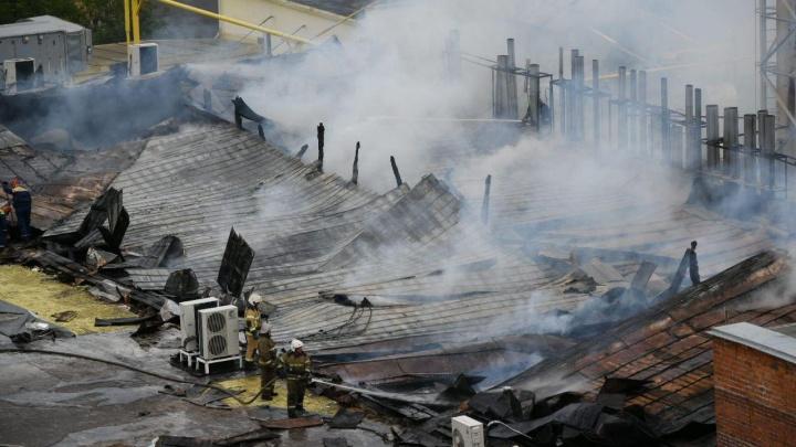 Загоревшийся завод СМАК пообещали перезапустить в ближайшее время