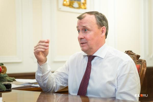 Публикуем пять главных обещаний нового главы Екатеринбурга