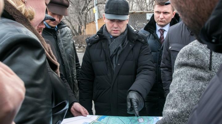 Вадим Шумков пообещал поработать над озеленением ЦПКиО