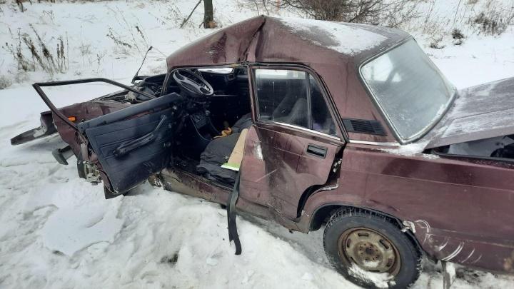 Виноват снег: в Самарской области произошло смертельное ДТП с КАМАЗом