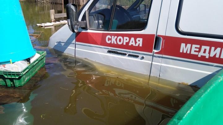 В Перми затопило парк активного отдыха при центре реабилитации инвалидов: вода не уходит четвертый день