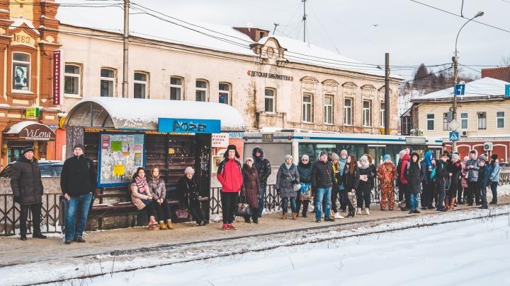 В Мотовилихе отремонтируют трамвайные пути за 170 миллионов рублей