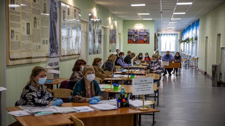 Явка на 15:00: в Новосибирской области уже проголосовал каждый пятый житель