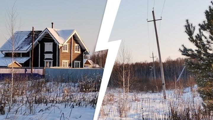 Жители дачного поселка под Тюменью боятся в морозы остаться без тепла из-за перебоев электроснабжения