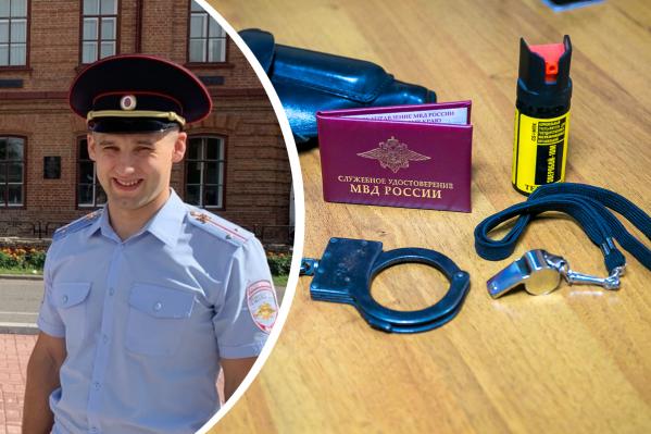 Вячеслав работает в полиции с 2017 года