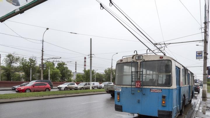 Отмену троллейбуса №18 объяснили его непопулярностью у волгоградцев