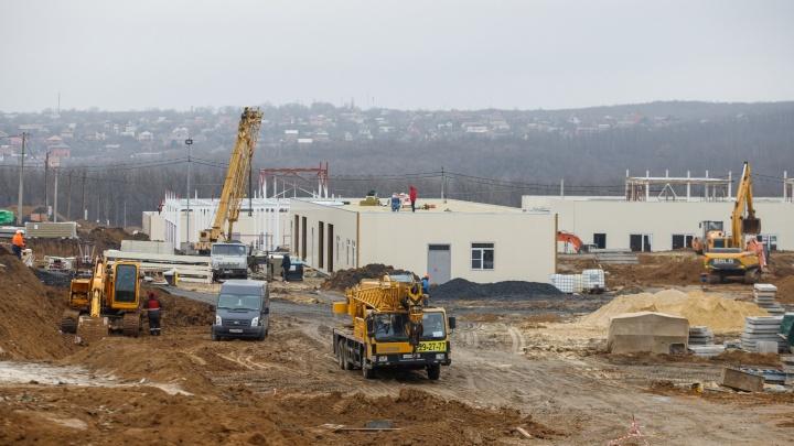 Как строят новую инфекционную больницу в Ростове — фоторепортаж 161.RU
