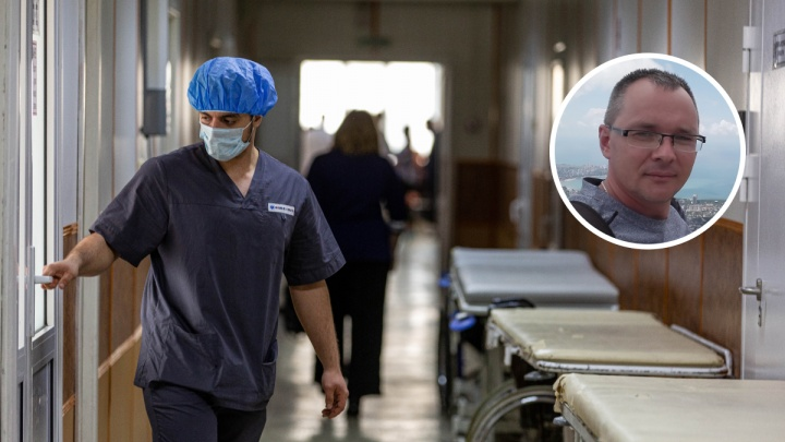 Мужчина, ругавший систему здравоохранения за смерть отца, поблагодарил врачей за спасение мамы