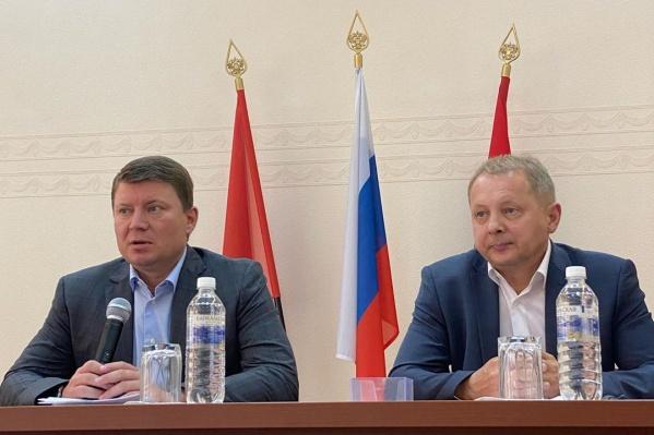 Глава города сегодня представил Дягилева депутатам и сотрудникам администрации