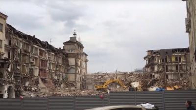 Видео дня. Гостиницу «Россия» в Нижнем Новгороде развалили до неузнаваемости