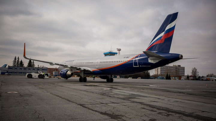 Неизвестные сообщили о минировании рейса Новосибирск — Москва