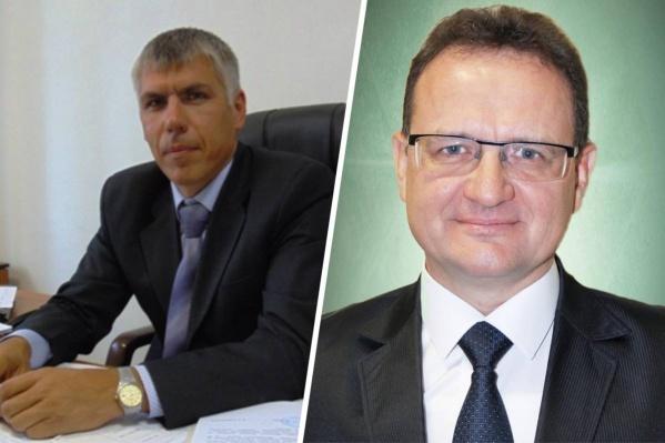 На должности главы администрации Романа Топольскова (слева) сменил Александр Локтев