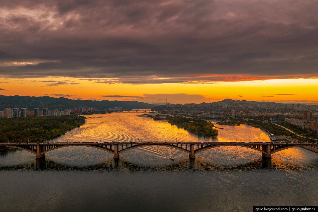 Коммунальный мост через Енисей