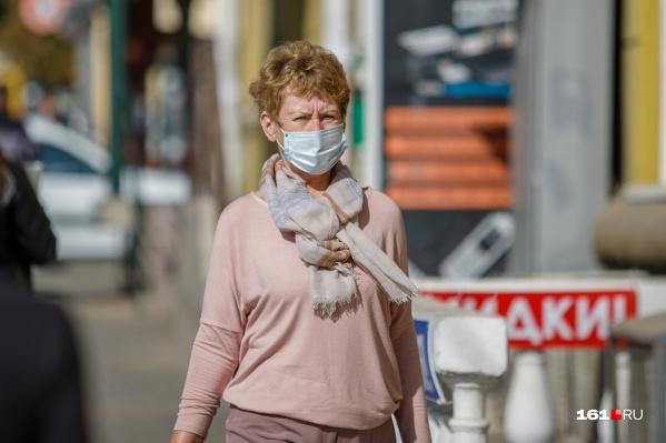 В Ростовеиз-за ухудшения ситуации с коронавирусом ввели новые ограничения