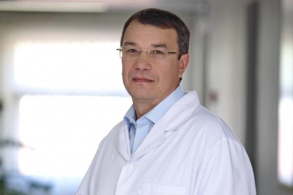 Олег Шиловских,генеральный директор Екатеринбургского центра МНТК «Микрохирургия глаза», главный офтальмолог Свердловской области