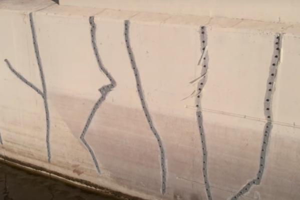 В Минтрансе Самарской области назвали трещины не опасными для эксплуатации моста
