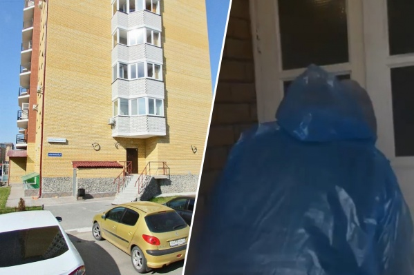 Конфликт между жильцом и дезинфектором разгорелся в этом доме на улице Софьи Ковалевской