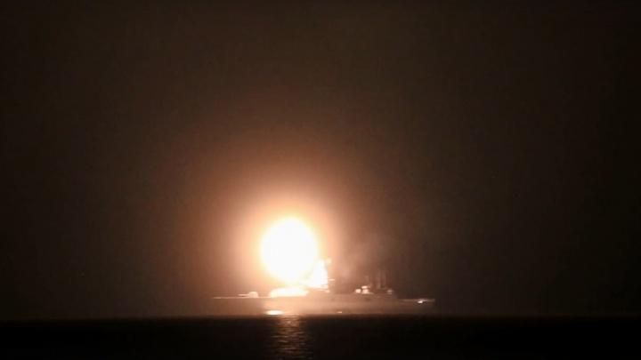 В Белом море сняли на видео испытания гиперзвуковой ракеты «Циркон»