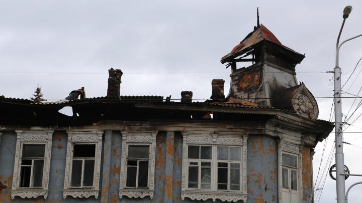 В МЧС Башкирии рассказали, как будут устанавливать причину пожара в усадьбе Бухартовских