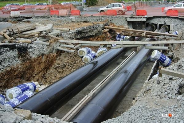 Улицу Большакова закроют для прокладки трубопровода