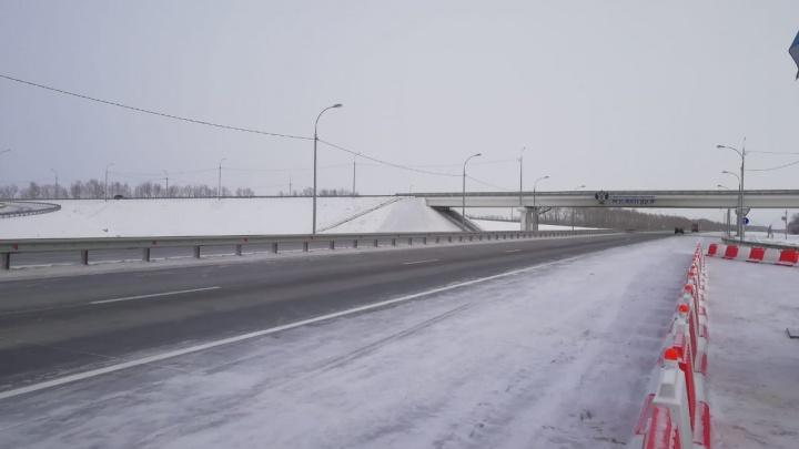 Премьер-министру Мишустину показали новосибирскую дорогу, которую реконструировали пять лет