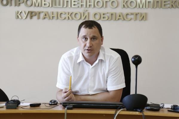 Павел Остапенко руководил департаментом АПК Зауралья с февраля 2020 года