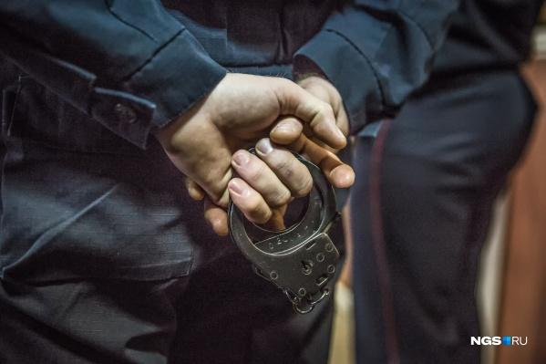 Задержанный, по словам полиции, даже не пытался скрыться