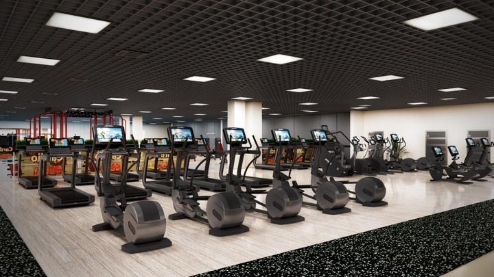 В Белых росах закрывают филиал фитнес-клуба NRGym