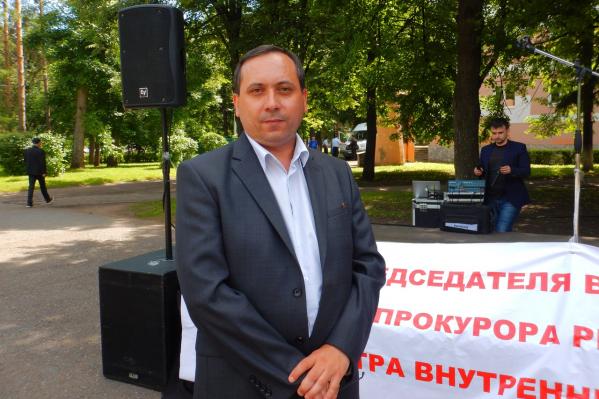 Общественник объявил голодовку в знак протеста