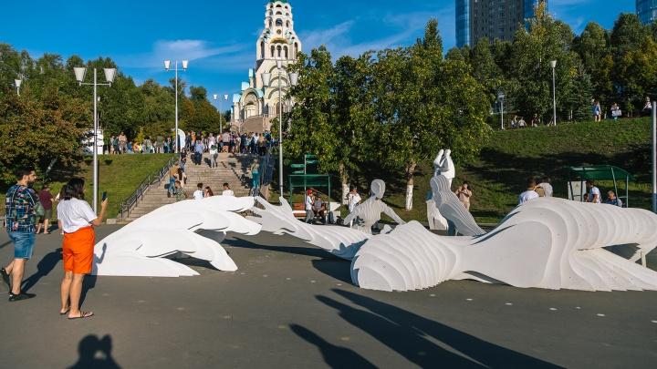 Как прошел «ВолгаФест» в Самаре: публикуем самые яркие фото с фестиваля набережных