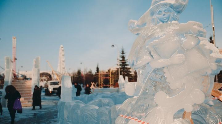 Ледовый городок в Тюмени перенесут с Цветного бульвара на новое место (угадайте куда?)